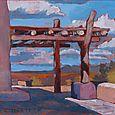 Veranda, Painted Desert Inn, Petrified Forest National Park