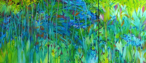 New Painting #3, 24%22x54%22