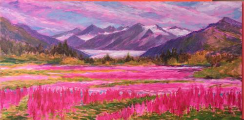 Pretty in Pink, Field Study at Brotherhood Bridge