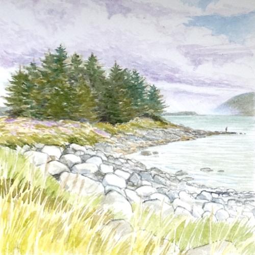 Fishing, Point Louisa