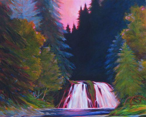 Hidden Falls, Salmon Creek