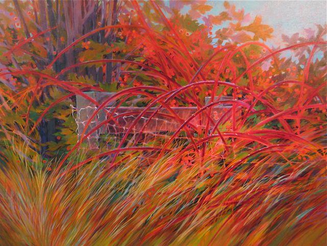 """Boundaries, 36""""x48"""", Acrylic on Canvas"""