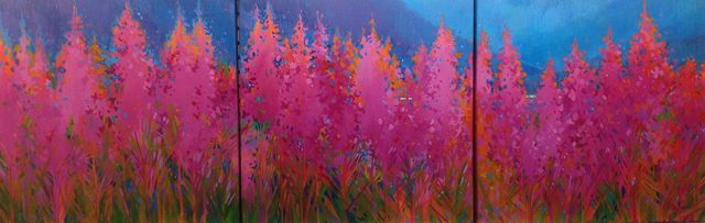 Fireweed Triptych