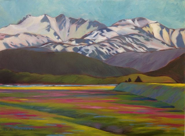 Mountain, Meadow - Near Eagle River
