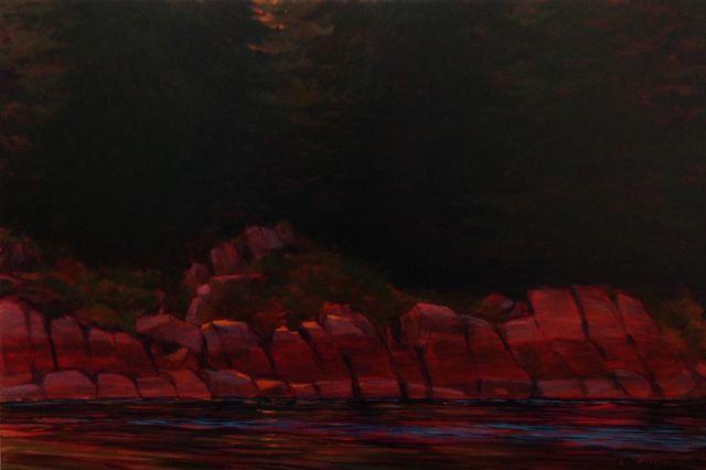 Tide Line, Evening Light