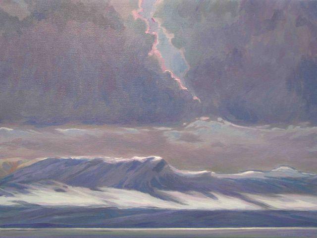 First Snow - Hardanger Fjord