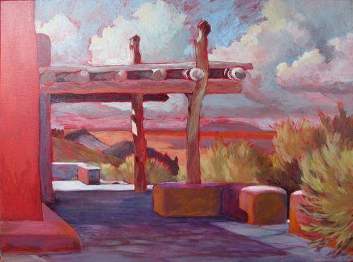Veranda, Painted Desert Inn