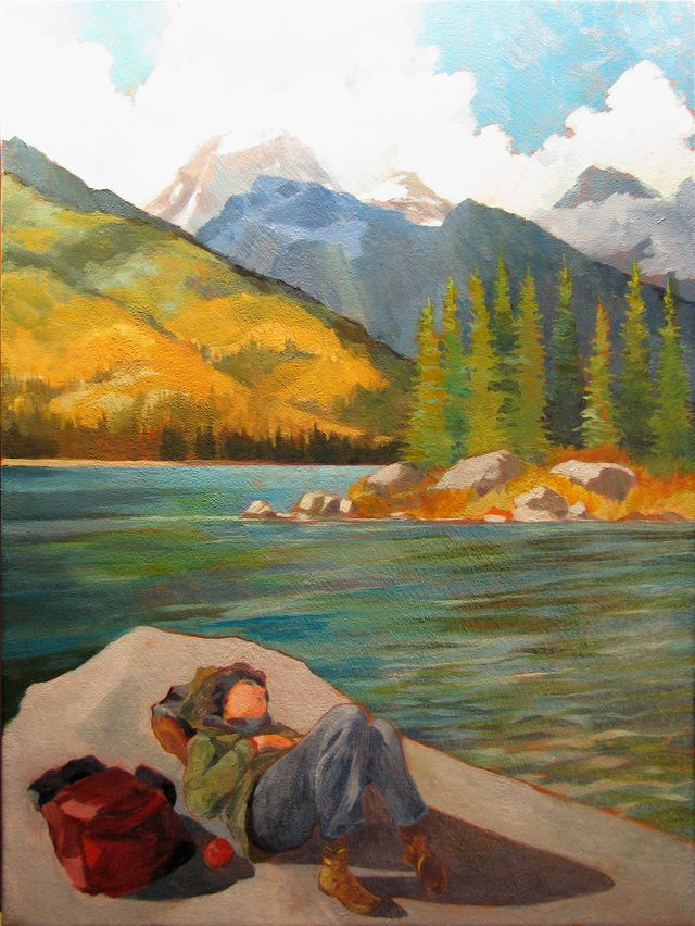 Resting Place, Taggart Lake