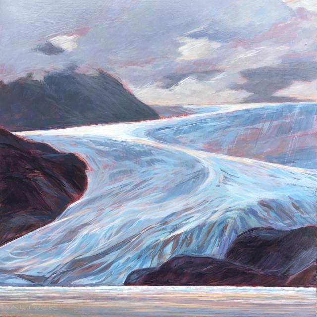 Mendenhall Glacier Zigzag